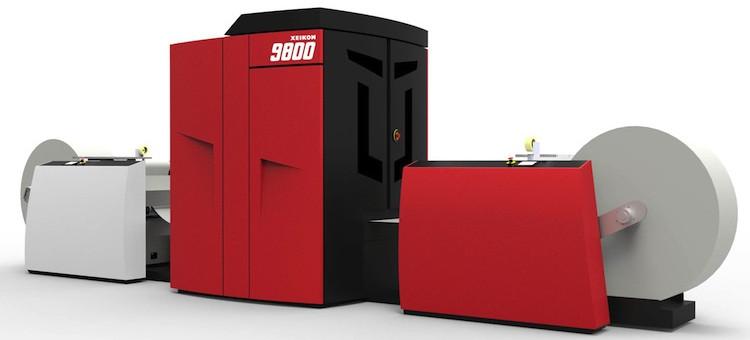 Xeikon Introduces 9800 Digital Color Press at Hunkeler Innovationdays