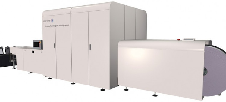 Pitney Bowes Expands Production Inkjet Offerings with AcceleJet System