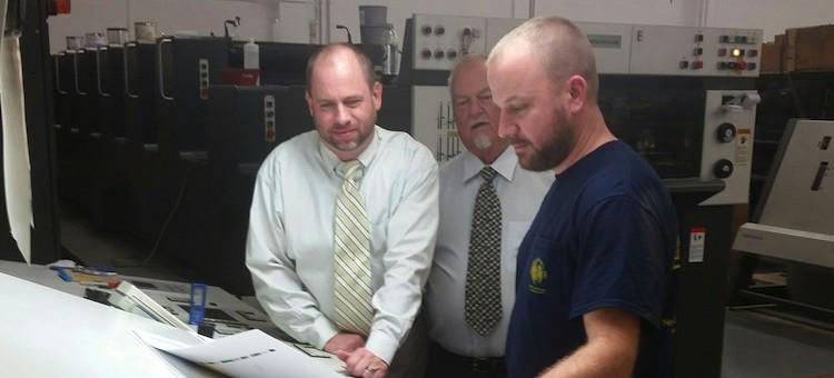 Star Print & Mail Demos Heidelberg Speedmaster 74 During Open House at New Plant