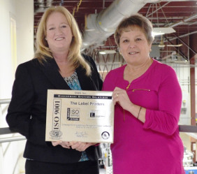 (From left) The Label Printers' Gina Ries and Diane Nehring.