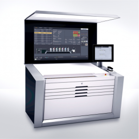 The heart of the new Speedmaster generation to be presented at drupa 2016 is the Prinect Press Center XL machine control station.