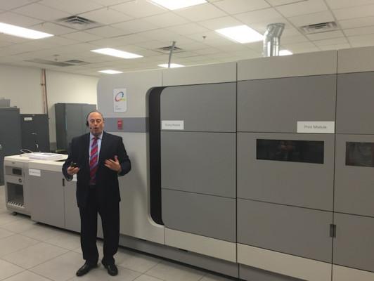 Océ VarioPrint i300 cut-sheet inkjet press
