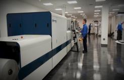 Domino Digital Printing and Training facility demo room.
