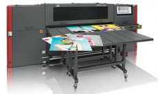 The EFI H1625 LED wide-format printer.