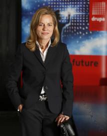 Sabine Geldermann, director, drupa 2020.