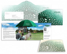 Pii has produced many pieces with creative folding, including this one for Country Financial insurance.