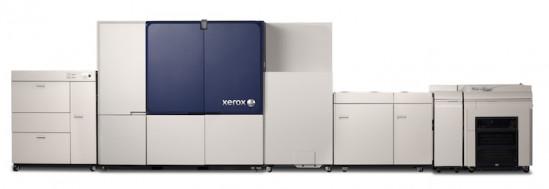 The Xerox Brenva HD production inkjet press.