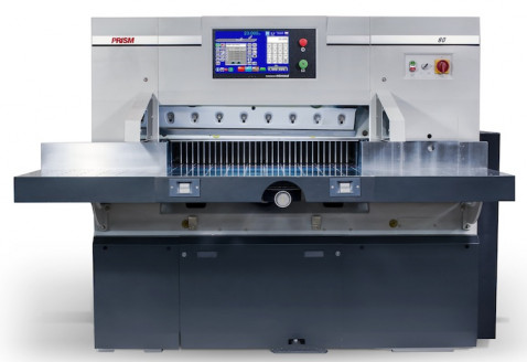 Colter & Peterson will demonstrate a new Prism P80 paper cutter with Microcut in the HP Hall at Dscoop.
