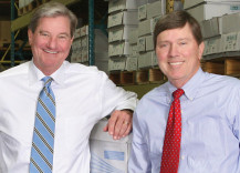 David McGehee (left) will take on the title of CEO and chairman, while his brother Sutton (right) becomes president.