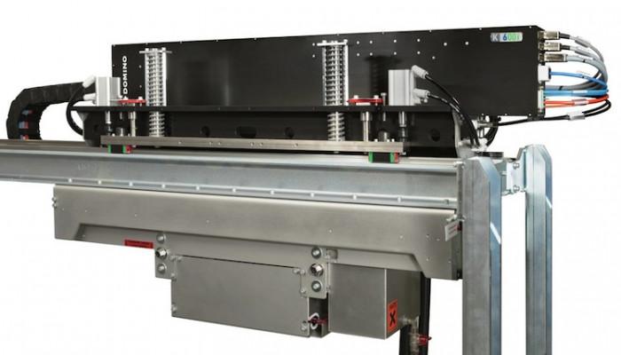 The Domino K600i + Gremser B2 sheetfed solution.