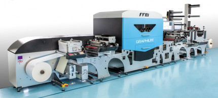 The Graphium hybrid UV digital inkjet press.