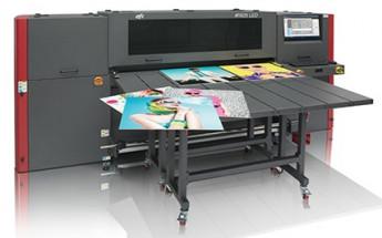 The EFI H1625 LED printer.