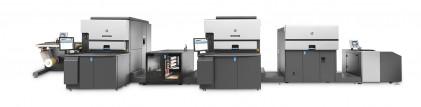 The HP Indigo 8000 digital press.
