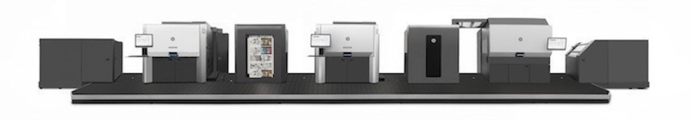 The oversize B1-format duplex HP Indigo 50000 digital press.
