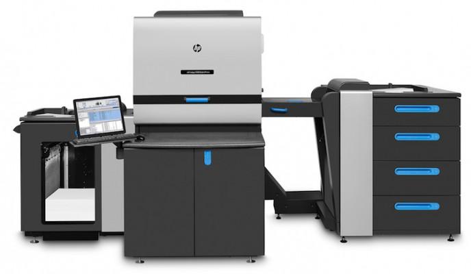 The HP Indigo 5900 digital press.