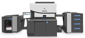 The HP Indigo 7900 digital press.