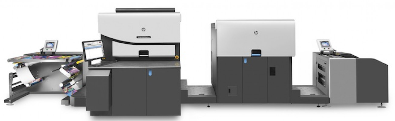 The HP Indigo WS6800p digital press for photo specialty applications.