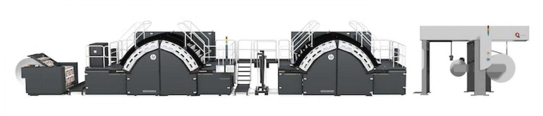 The HP PageWide Web press T490 HD/HP PageWide Web Press T490M HD .
