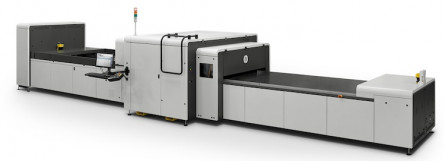The HP Scitex 9000 Industrial Press.