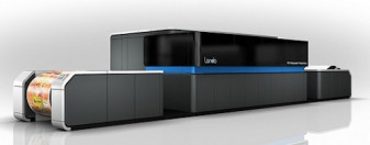 The Landa W10 Nanographic printing press.