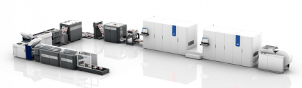 The Canon Océ ColorStream 6000 Chroma press will be configured as a completely integrated system with the Zero Speed Splicer u40 and Libra One book block solution from Tecnau.