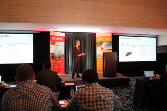 Francis A. McMahon discussed Canon Solutions America's continued digital press market share growth and new product development within the Production Print Solutions division.