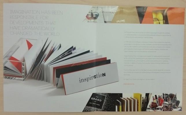 This brochure highlights Prestone's traditional printing capabilities.