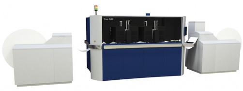 The Xerox Trivor 2400 inkjet press.
