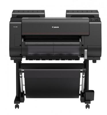 The Canon imagePROGRAF PRO-2000 large-format inkjet printer.