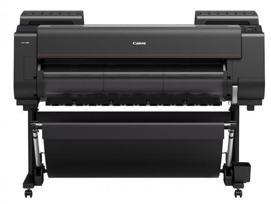 The Canon imagePROGRAF PRO-4000 large-format inkjet printer.