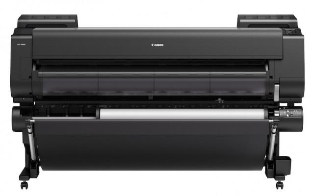 The Canon imagePROGRAF PRO-6000S large-format inkjet printer.