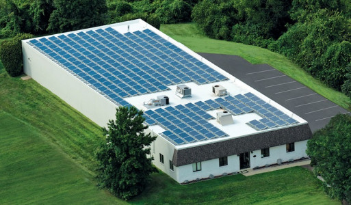 Astro-Dynamic Print & Graphic Services is powered by more than 250 solar panels.