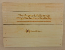 The Arysta Life Science Crop Protection Portfolio, submitted by Modern Litho, was created to highlight Arysta Life Science's products.