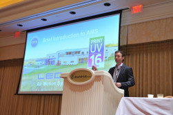 Steve Metcalf of AMS discussed curing innovations and other technology trends.
