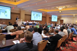 A record number of attendees turned out to Print UV 2016 to hear President and CEO of AMS Steve Metcalf.