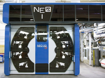 The new NEO XD LR CI web press is engineered for all ink systems currently popular in flexo printing.