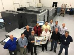 An HP Indigo 30000 digital press has been installed at Valid USA to produce financial cards.