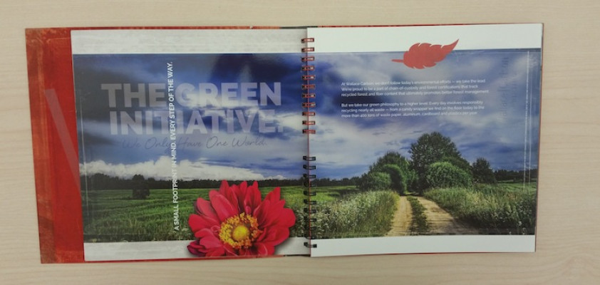 Through its Green Initiative, the company is reducing its environmental footprint.