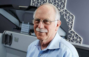 """Charles Hull, the co-founder and chief technology officer of 3D Systems and who is widely considered the """"father of 3D printing,"""" is the recipient of the Melbert B. Cary Jr. Award from RIT's College of Imaging Arts and Sciences."""