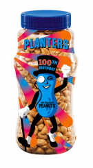 The special edition Mr. Peanut labels were also printed using HP Indigo digital presses on 50-micron PETg film.
