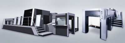 Integrated and on an equal footing – digital and offset innovations from Heidelberg (from left to right).