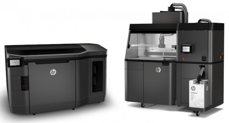 The HP Jet Fusion 3D 3200 Solution.