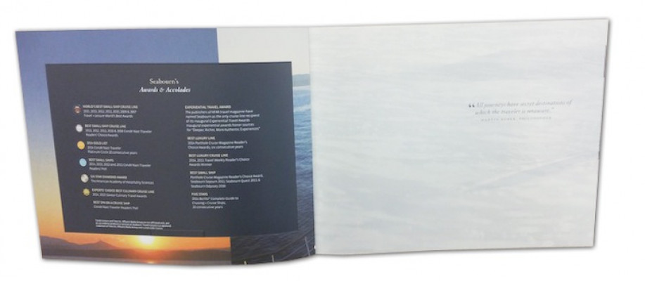 31-lb. UV/Ultra II Pearlized from Neenah Paper was used for the flysheet.