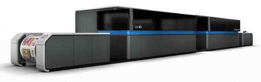 The new Landa W10P Nanographic Printing Press