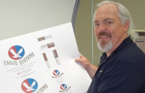 Eagle President and CEO Mike King at Packaging Graphics.