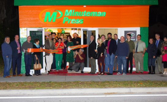 Minuteman-Press-Fort-Lauderdale-Grand-Opening-Ribbon-Cutting