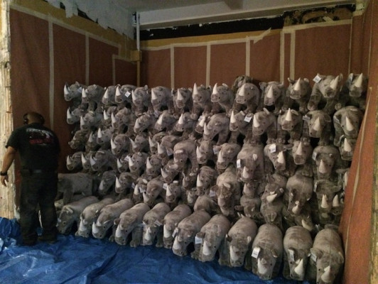 B Squared went above and beyond for a customer that needed a fulfillment job for 1,000 plush rhinoceroses.