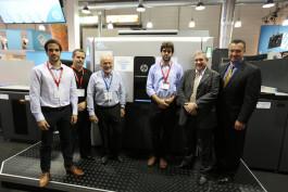 Farmografica purchased the first HP Indigo 30000 digital press in Argentina.