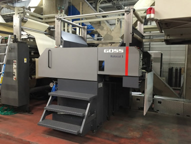 Installation at Kinmei Printing Co. marks world's first LED-UV drying system on a high speed web offset press.