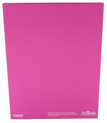 The front and back of the Gift Box features 130-lb. Sappi Opus Gloss cover.